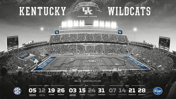 University of Kentucky Football Schedule