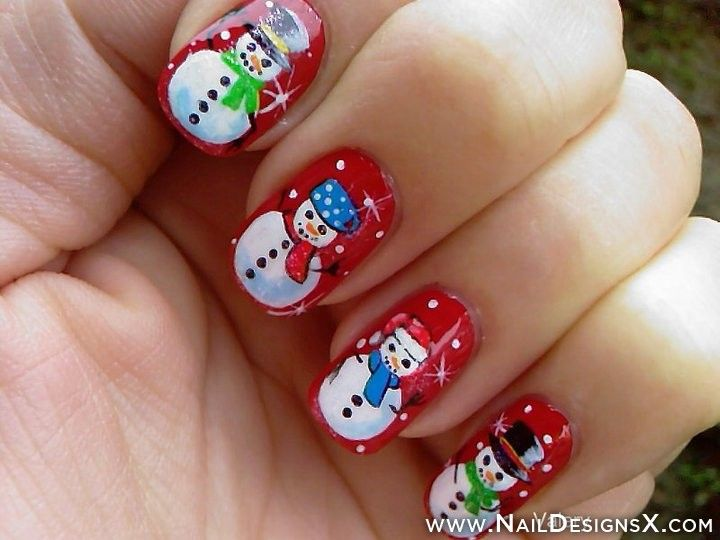58 best holidays nail designs nail art images on pinterest art winter nails nail designs nail art prinsesfo Images