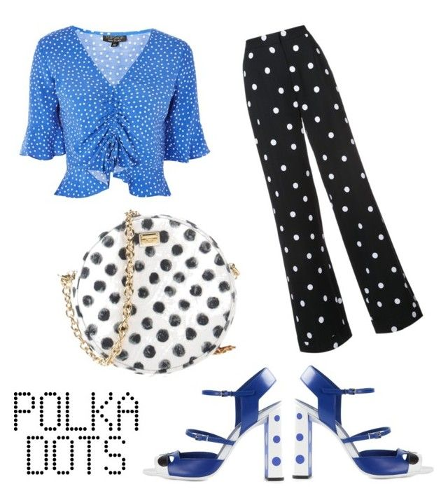 """""""Polka Dots"""" by anielle-fashion on Polyvore featuring Monse, Fendi, Topshop and Dolce&Gabbana"""