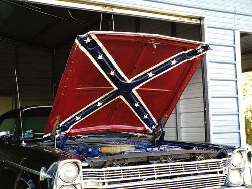 Confederate flag car hood - it's a heritage thing