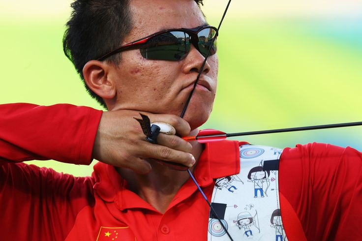 Day 1: Archery Men's Team - Xuesong Gu of China