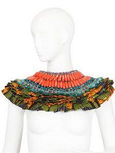 Anita Quansah London - Salma Shoulder Piece | FashionJug.com