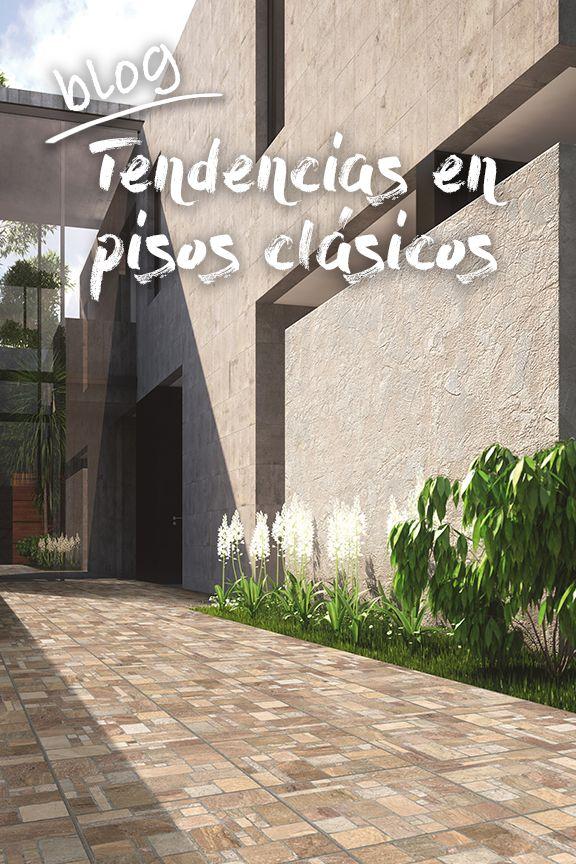 Tendencias en pisos clásicos para tu hogar. Te compartimos lo nuevo en pisos exteriores y pisos interiores.