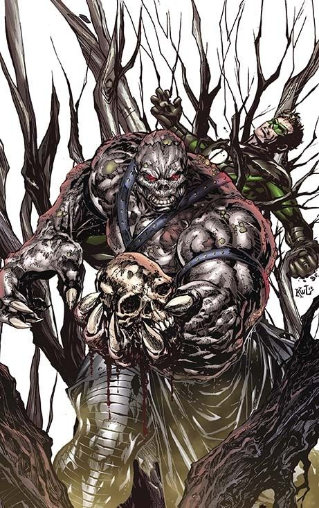 Solomon Grundy on Earth 2 #15.2 | All 52 DC Villain Month Covers