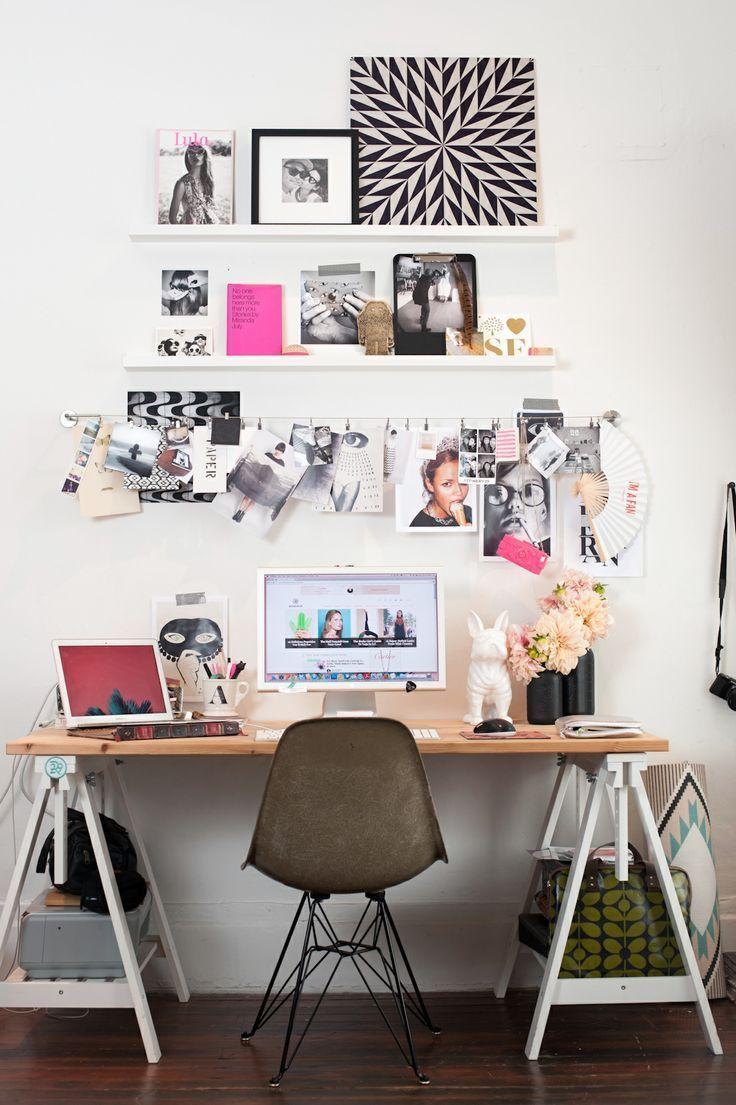 10 Ideas para Decorar tu Oficina #work #office #deco                                                                                                                                                      Más