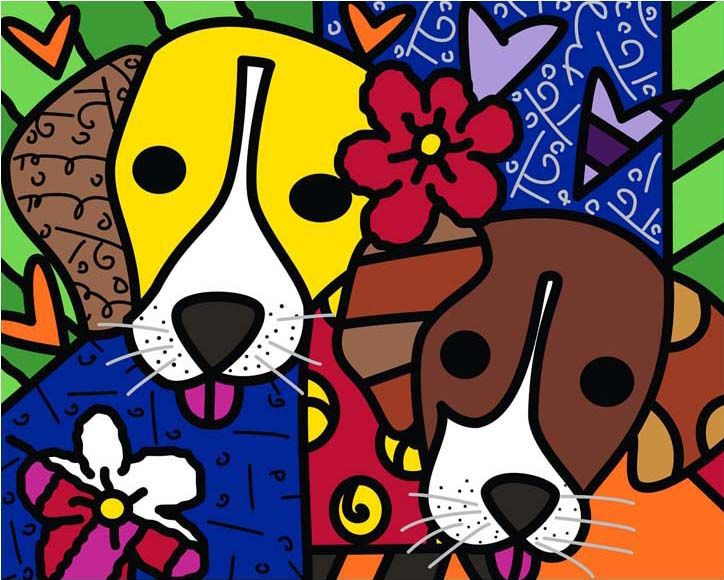 ROMERO BRITTO - Fine Art Prints