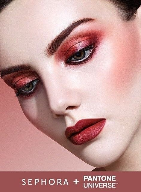 Sephora + Pantone Universe 2015 Color Of The Year: Marsala,