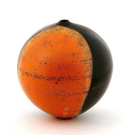 """Ceramic ware made in Cortona by Giulio Lucarini using a local ancient glazing technique, """"terra sigillata"""""""