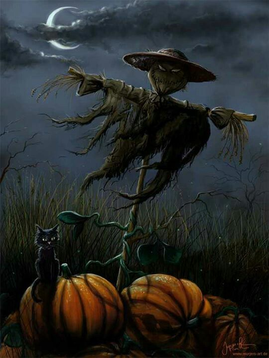 scary scarecrow - Halloween Scare Crow