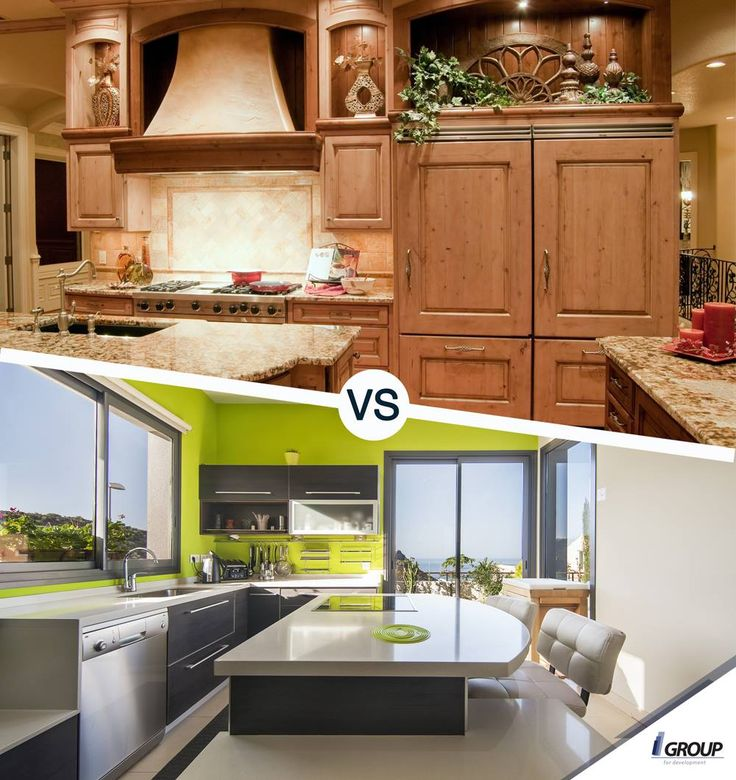 Would you rather have a classic kitchen or a modern one?