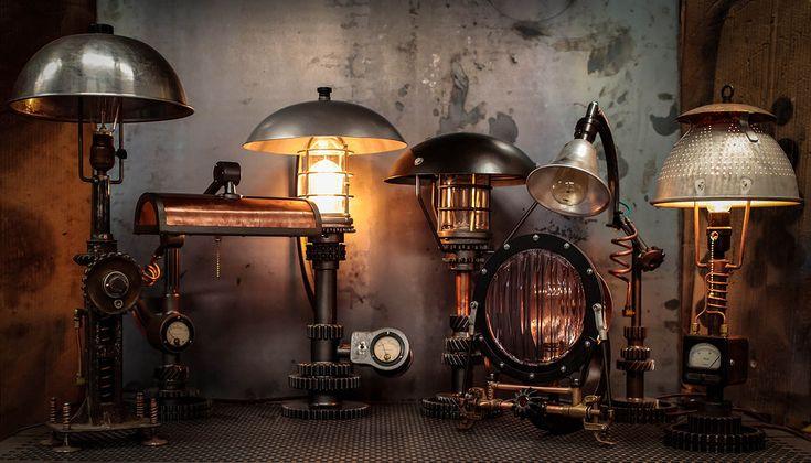 16 best steampunk images on pinterest for Industrial punk design