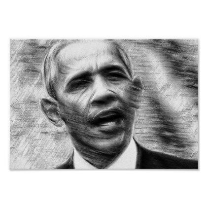Barack Obama Poster - artists unique special customize presents