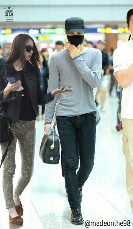 Kaistal kai and krystal cr: the owner #kaistal #kai #krystal #exo #fx #airport
