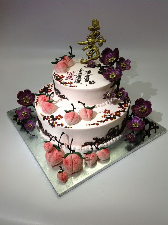 50 Fantastic Chinese Cake Decorating Ideas Chinese
