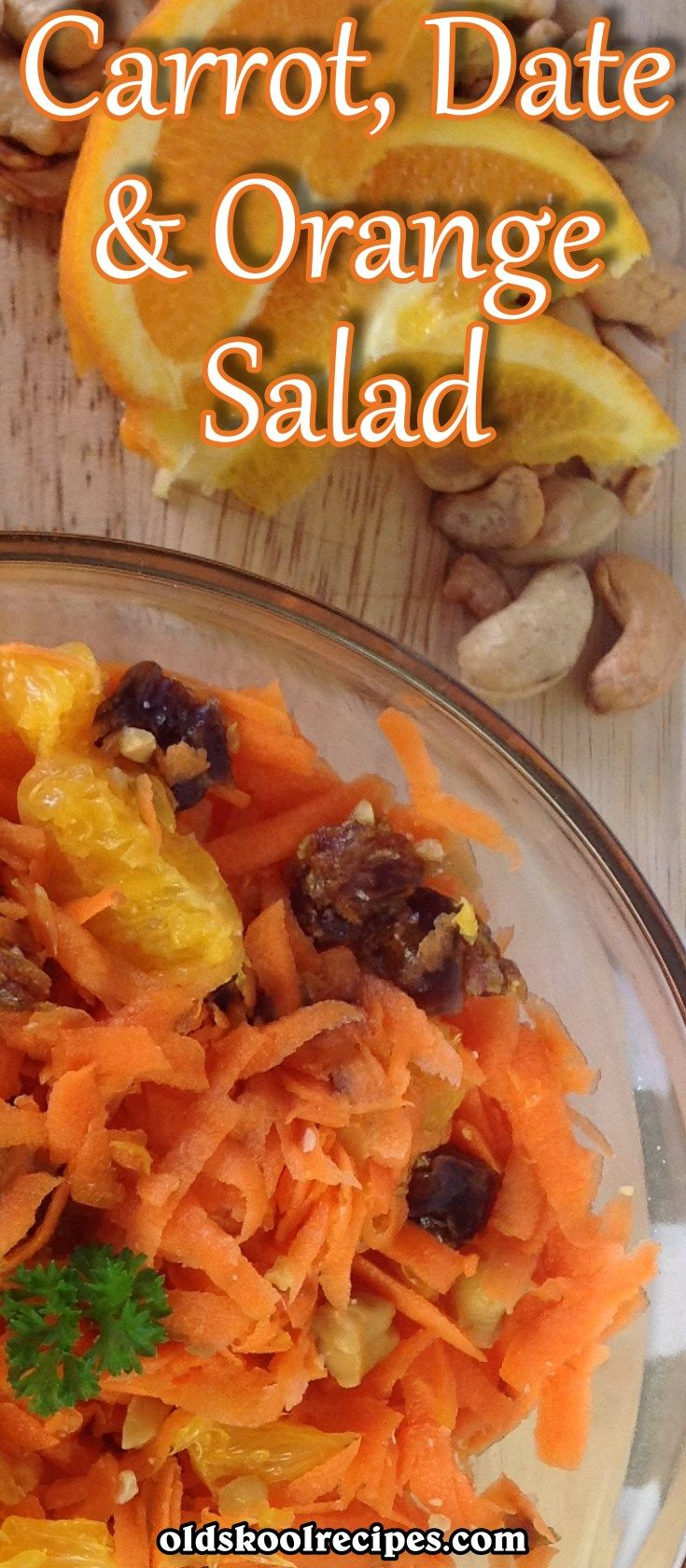 This is an easy and quick Carrot, Date and Orange Salad Recipe to make. What makes it even more special is that no cooking is required. Make this Carrot, Date and Orange salad with a difference for your next barbeque. I'm sure your family and friends will love it. The dates and nuts gives the carrots a different taste, so perfect for those long summer days.