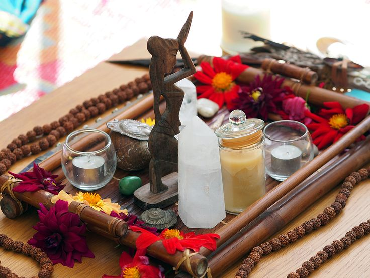 OM Cleanse Sacred Alter creation