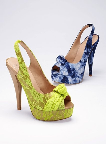 puurrrttttyyyy  Knot-front Pump - Colin Stuart® - Victoria's Secret: Shoes, Knot Front Pump, Summer Color, Victoria Secret, Stuart Knot Front, Victoria S Secret, Blue Pumps