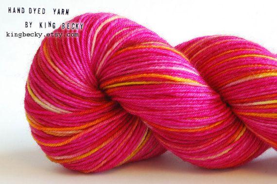 Yarn Candy  Pixel Yarn  Cupcake  Limited Edition Yarn by KingBecky, £14.00