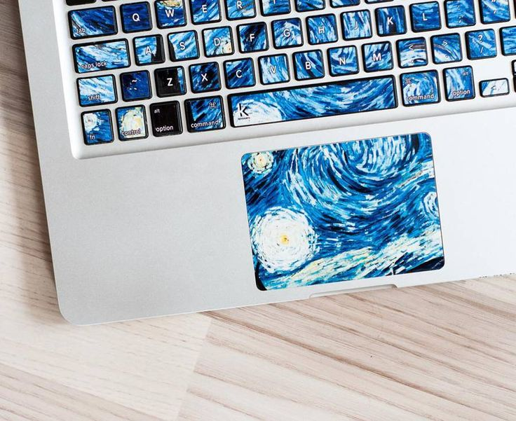 Stunning Laptop Keyboard Stickers Inspired by Iconic Paintings – Fubiz Media
