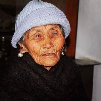 This is Abiyra grandma, she is blind and really  needs help! Dear friends! 25 days left to mobilize amount of money for our elderlies house. Please, support us!