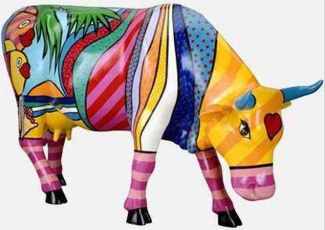 New York Cow Parade Art Exhibit 2000