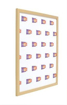 Thin Gold Finish Ready Made Picture Photo Frame, 50 x 70 cm