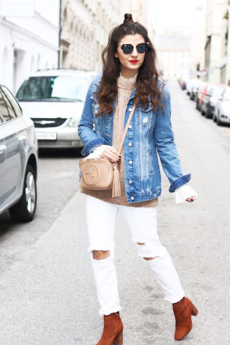 1000  ideas about Ripped Boyfriend Jeans on Pinterest   Boyfriend ...