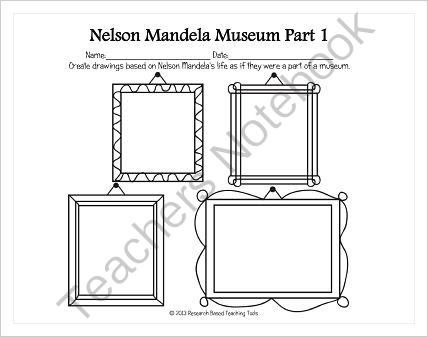 Nelson Mandela by Kadir Nelson Activity from Research
