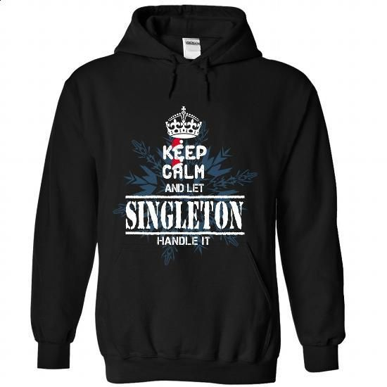 KC and let  SINGLETON Handle It - #hoodie freebook #sweatshirt quilt. ORDER NOW => https://www.sunfrog.com//KC-and-let-SINGLETON-Handle-It-9598-Black-Hoodie.html?68278
