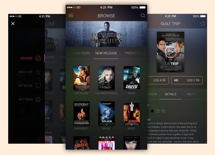 <p>Download Movie App UI Free PSD Template file. Enjoy!</p>