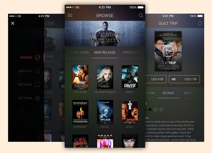 <p>Download Movie App UI Free PSD Template file. Enjoy!</p>