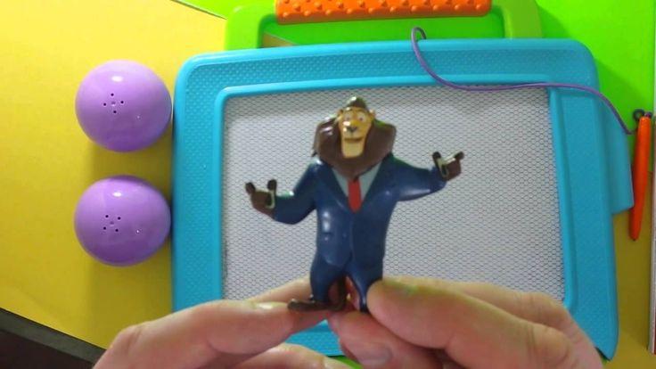 Zabawa dla dzieci z zabawkami Disney Playtime urodzinowa niespodzianka zabawki dla dzieci dla dzieci  Zootopia OVER 1 HOUR Learn to Spell Surprise Eggs and Minions Minnie Dis...