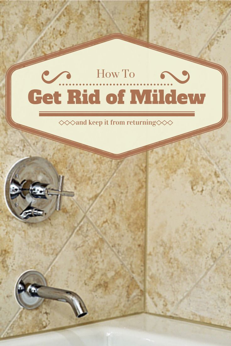 How To Get Rid Of Mildew And Keep It From Returning And Then To The And Your Family