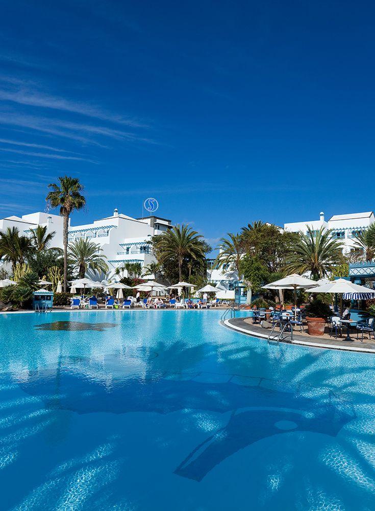 Hotel Seaside Los Jameos Playa**** Pool area #seehorse #pool