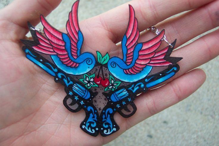 Swallows and pistol tattoo idea | 2nd Amendment | Pinterest
