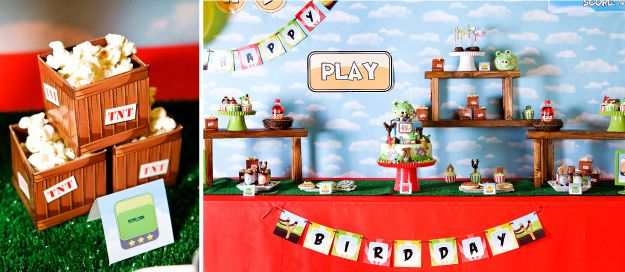 Anders Ruff Boy Birthday Party Themes – Party Ideas for Boys Printables Birthday Party Decorations Angry Birds