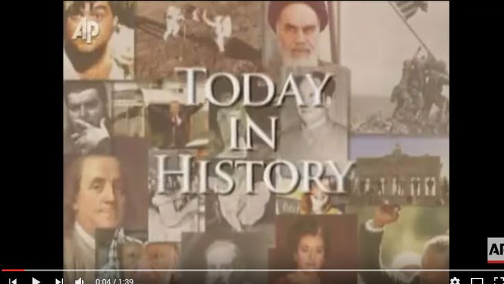 Today in History for October 31 - Ardan News