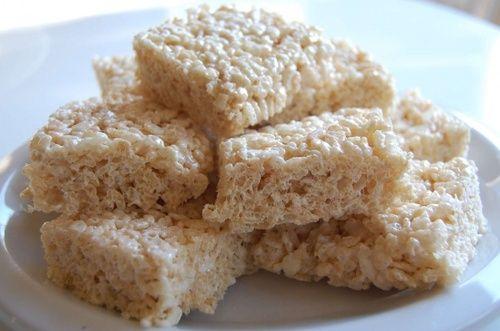 Marshmallow Rice Crispy Treats
