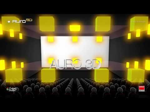 Auro-3D, Barco's 3D sound technology for the digital cinema industry - YouTube