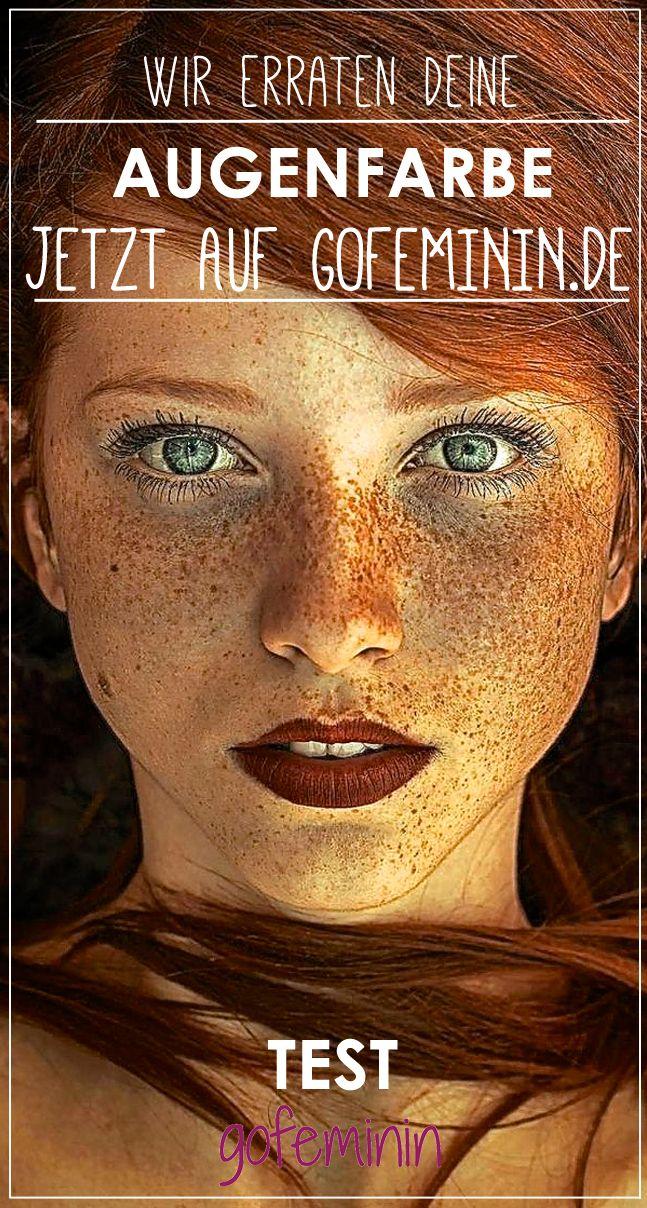 Schau mir in die Augen, Kleines! Wetten, wir können deine Augenfarbe erraten?  #gofeminin #test #eyecolour