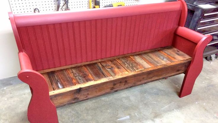 Repurpose Sleigh Bed Into A Bench Furniture Redo Pinterest Search Sleigh Beds