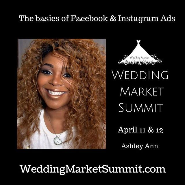 The basics of Facebook and Instagram ads with @eventsbyashleyann at the Wedding Market Summit @guesthousegraceland in #Memphis April 11-12. Register today at www.weddingmarketsummit.com Sponsored by @wedtech @timelinegenius  @animoto @southernbride #evedeso #eventdesignsource - posted by Julie Albaugh https://www.instagram.com/weddingmarket. See more Event Designs at http://Evedeso.com