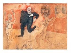 Jose Luis Cuevas - Picasso Bailando