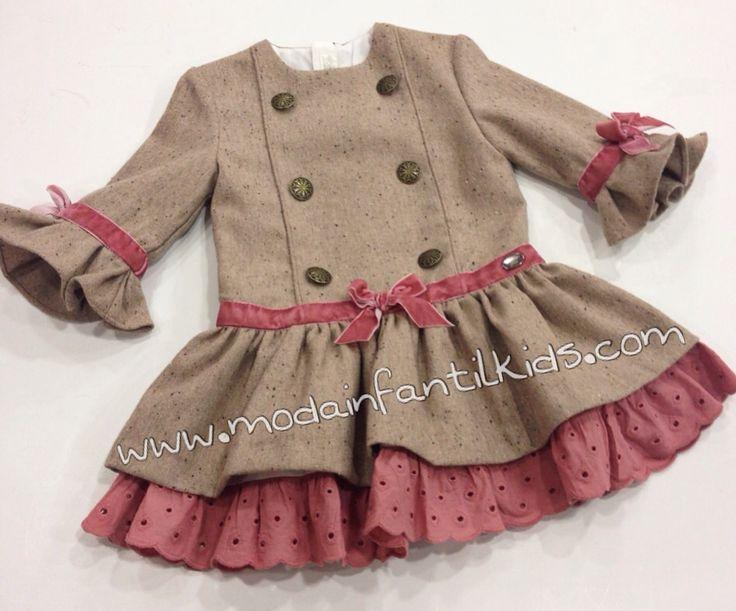 Vestido niña de 2 a 12 años