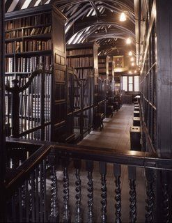 Chetham Library in Manchester, UK is the oldest public library still in use circa 1653