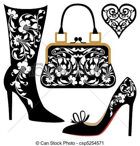 handbag clipart free   google search shoess pinterest
