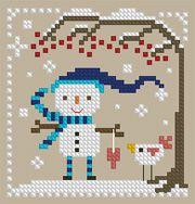 The Floss Box | Snow Fun Cross Stitch