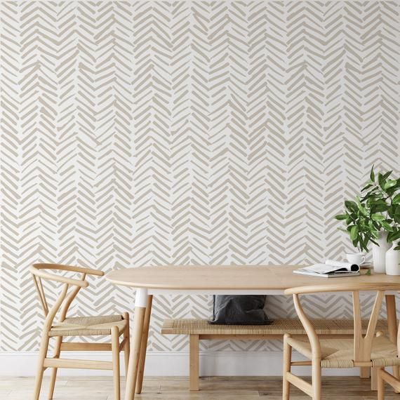 Removable Wallpaper Peel And Stick Wallpaper Home Decor Wall Etsy In 2020 Removable Wallpaper Peel And Stick Wallpaper Geometric Wallpaper