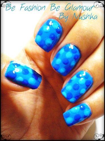 Blue doots - Nail Art Gallery by NAILS Magazine: Nails Stuff, Nails Magazines, Nails Art Galleries, Nails Design, Nails Ideas, Nails Exchange, Ma Nails, Nails Polish, Nails 3