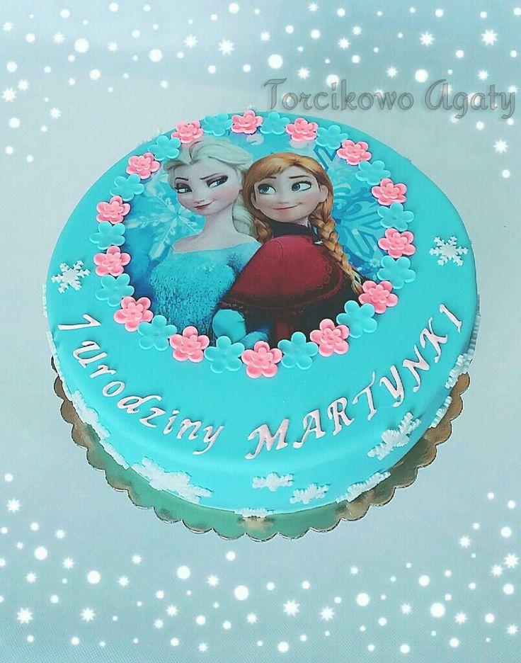 #Frozencake #Elza#Anna